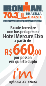 Pacote para o Ironman 70.3 Brasília